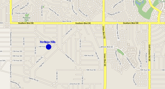 Heritage Hills Google Map