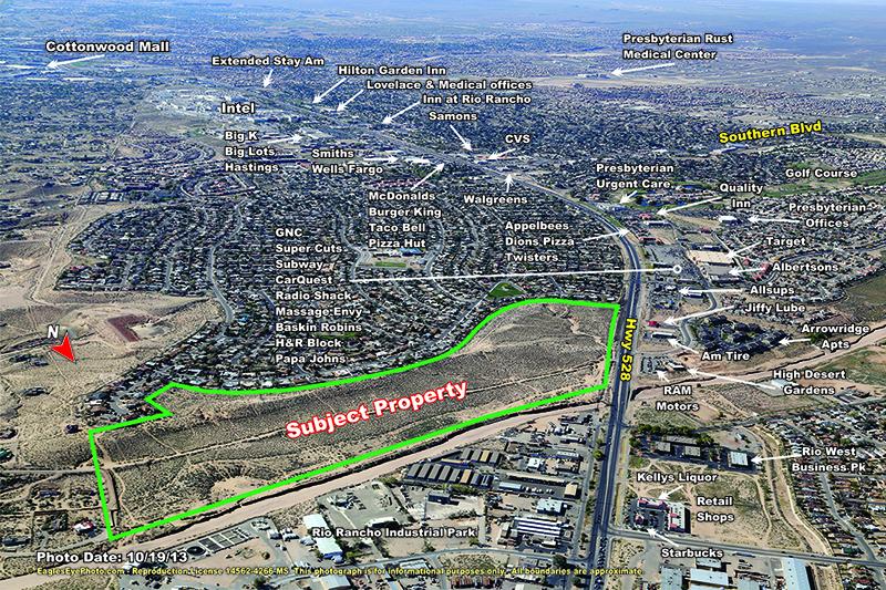 Arrowhead 80 Acres - Hwy 528 Rio Rancho - Excalibur Investments