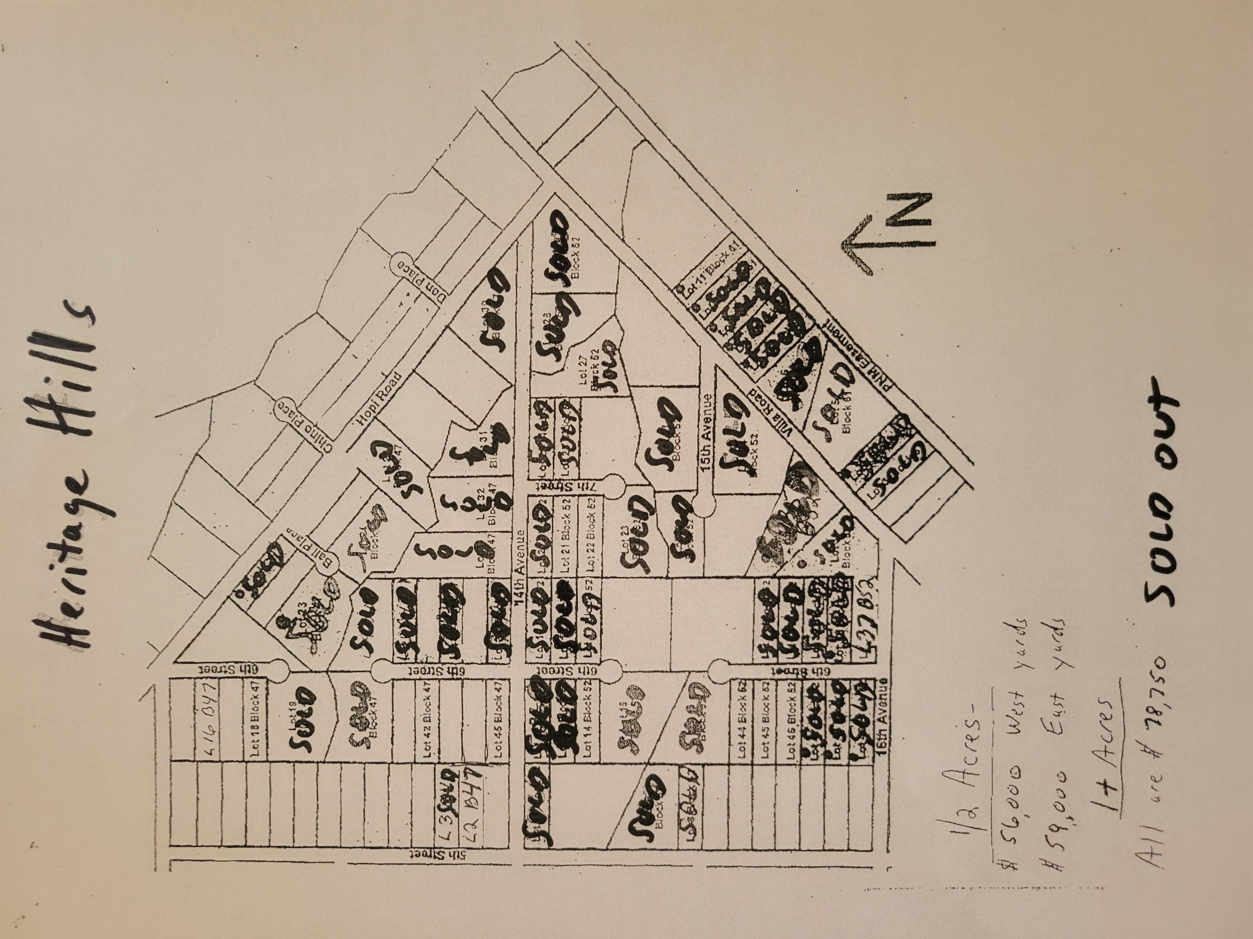 Heritage Hills Land Available